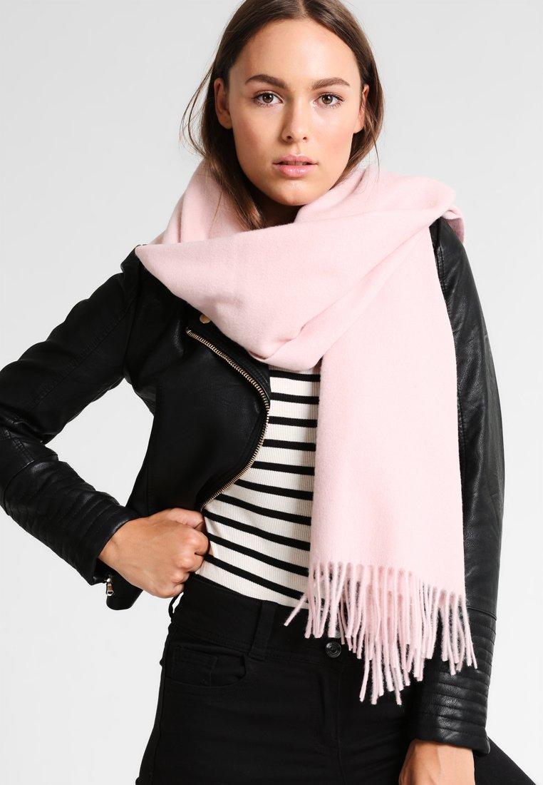 Samsøe Samsøe - ACCOLA MAXI SCARF  - Sjal - silver pink