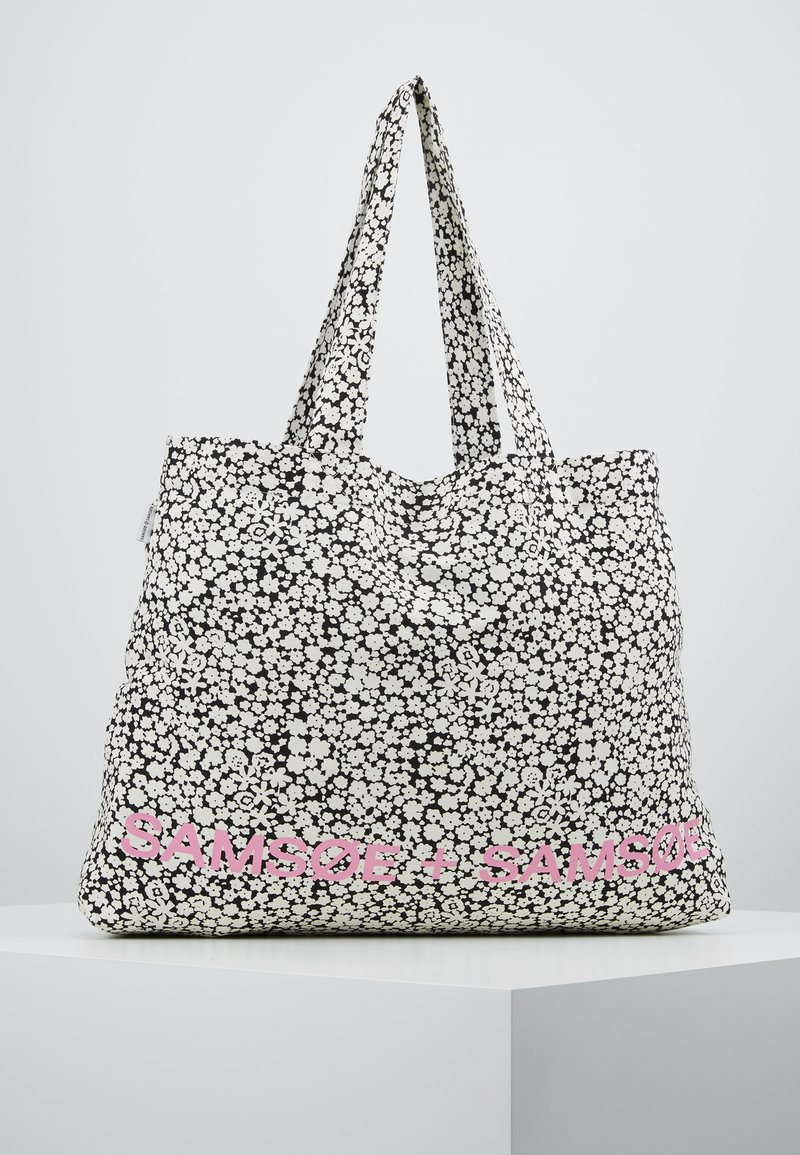 Samsøe Samsøe - SHOPPER - Shopping bags - ecru