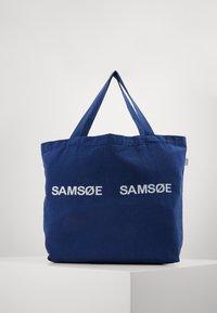 Samsøe Samsøe - FRINKA  - Shopping Bag - blue depths - 0