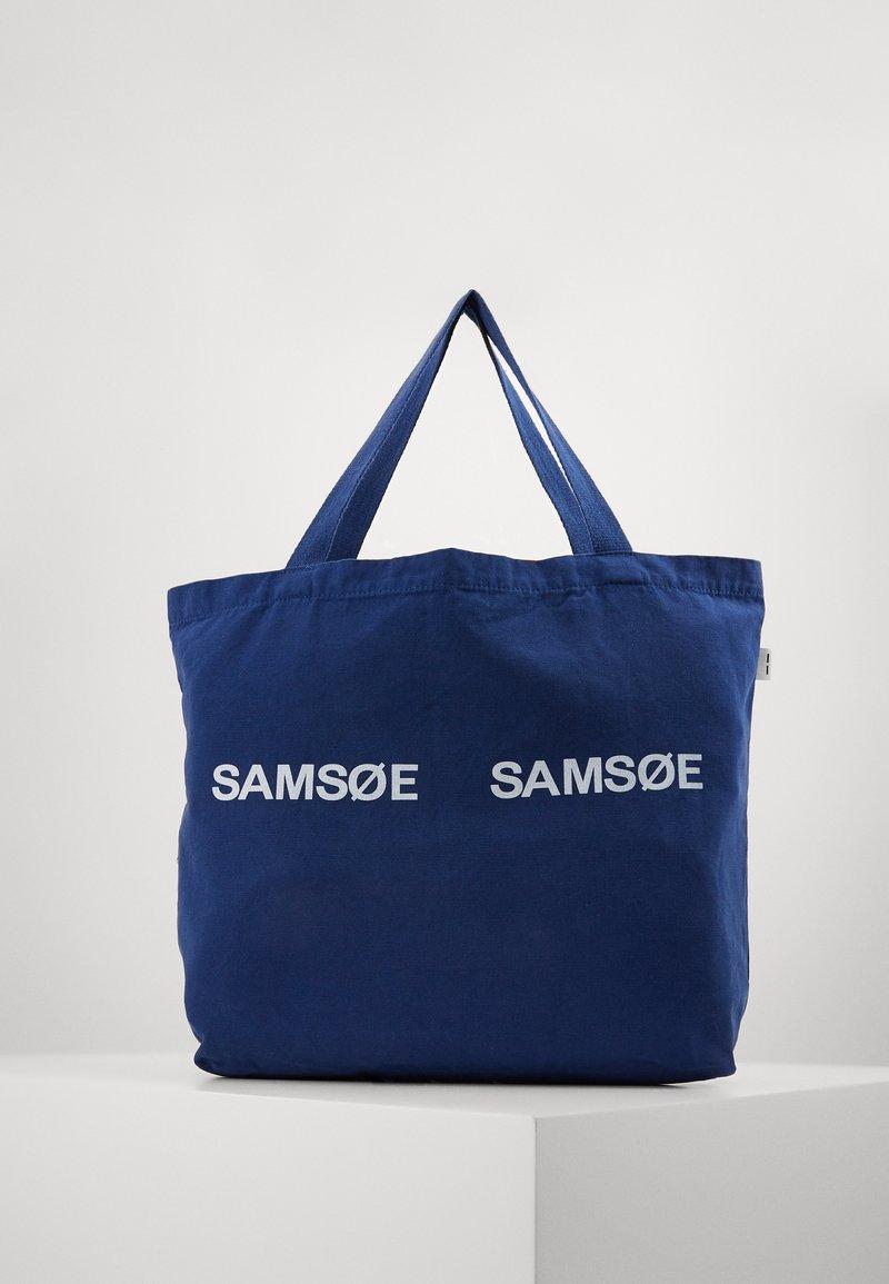 Samsøe Samsøe - FRINKA  - Shopping Bag - blue depths