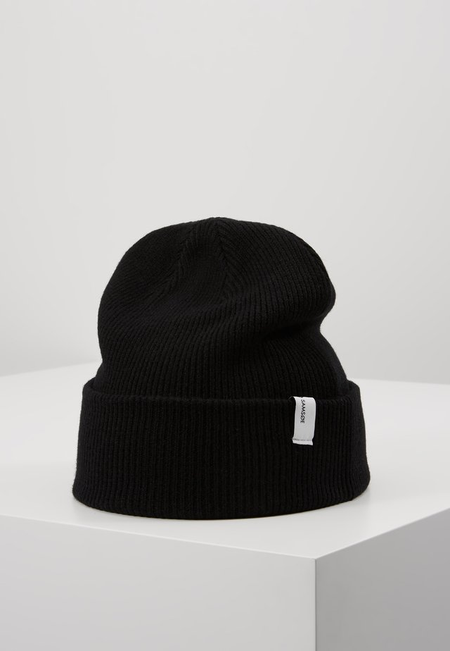 THE BEANIE  - Lue - black