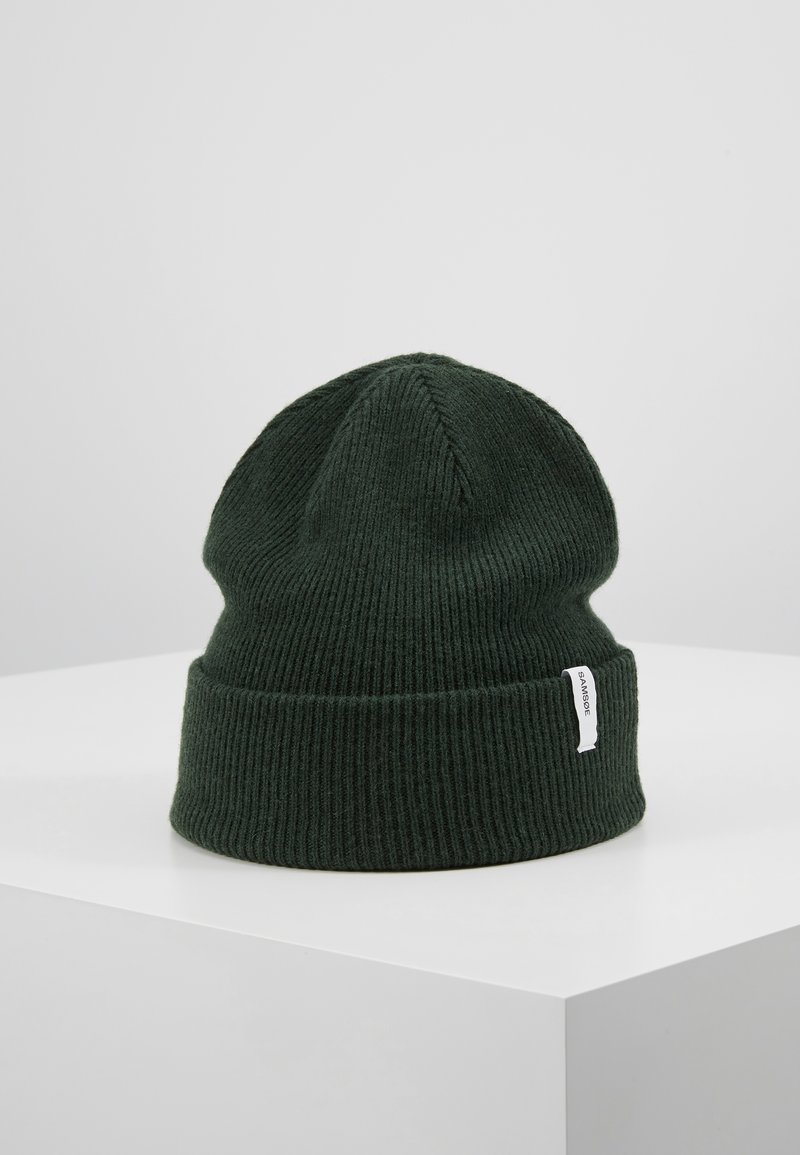 Samsøe Samsøe - THE BEANIE - Beanie - deep forest