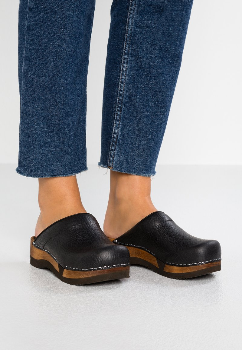 Sanita - RANA FLEX - Clogs - black