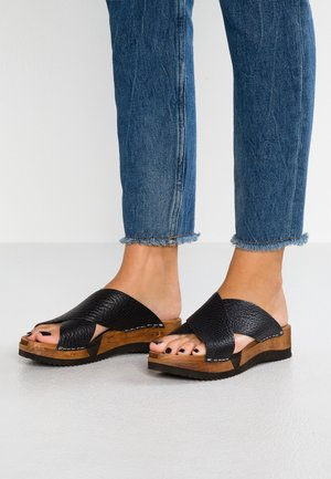 TANJA SPORT FLEX - Clogs - black