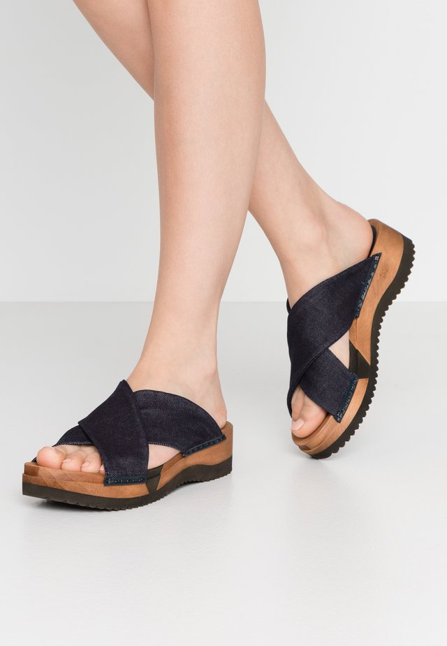 TILKA SPORT FLEX  - Clogs - navy
