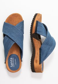 Sanita - TILKA SPORT FLEX  - Clogs - denim - 3