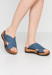 Sanita - TILKA SPORT FLEX  - Clogs - denim - 0