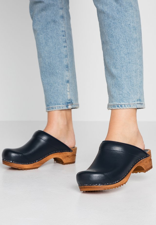 LOTTE OPEN - Clogs - blue