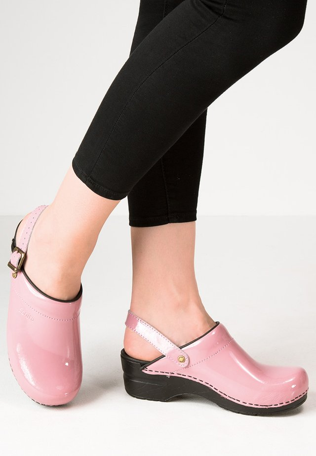 FREYA - Clogs - rose