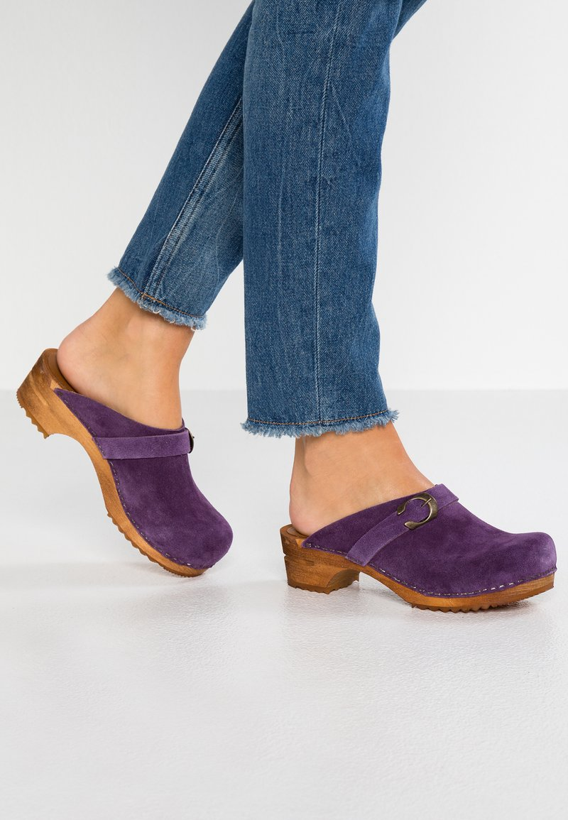 Sanita - HEDI OPEN - Zoccoli - purple
