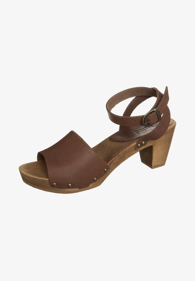 YARA - Clogs - antique brown