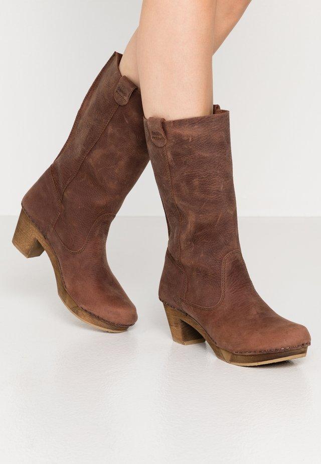 RILO BLOCK FLEX BOOT - Cowboy/Biker boots - antique brown
