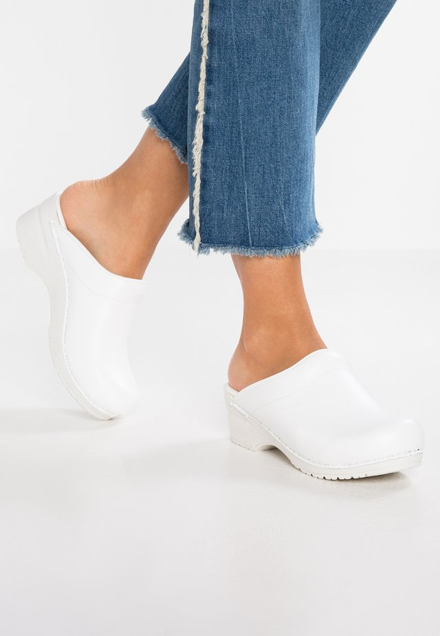 SONJA - Clogs - white