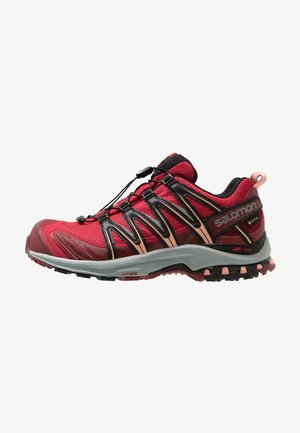 XA PRO 3D GTX - Løpesko for mark - deep claret/syrah/coral almond