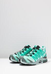 Salomon - XA PRO 3D GTX - Trail running shoes - electric green/vivid green/icy morn - 2