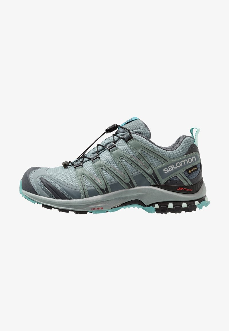 Salomon - XA PRO 3D GTX - Trail running shoes - lead/stormy weather/meadowbrook