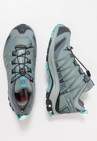 Salomon - XA PRO 3D GTX - Trail running shoes - lead/stormy weather/meadowbrook - 1