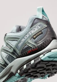 Salomon - XA PRO 3D GTX - Trail running shoes - lead/stormy weather/meadowbrook - 5