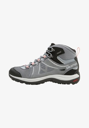 ELLIPSE 2 MID GTX - Scarpa da hiking - lead/stormy weather/coral almond