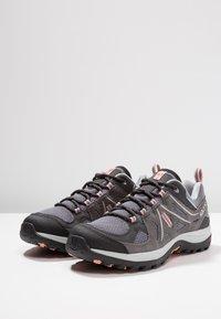 Salomon - ELLIPSE 2 AERO  - Hiking shoes - quiet shade/magnet/peach amber - 2