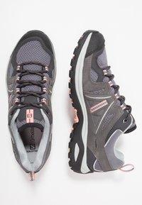 Salomon - ELLIPSE 2 AERO  - Hiking shoes - quiet shade/magnet/peach amber - 1