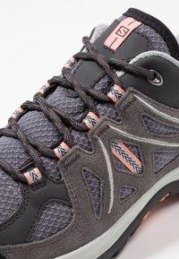 Salomon - ELLIPSE 2 AERO  - Hiking shoes - quiet shade/magnet/peach amber - 5