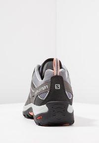 Salomon - ELLIPSE 2 AERO  - Hiking shoes - quiet shade/magnet/peach amber - 3