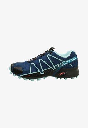 SPEEDCROSS 4 - Trail running shoes - poseidon/eggshell blue/black