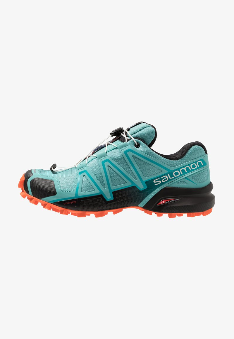 Salomon - SPEEDCROSS 4 - Laufschuh Trail - meadowbrook/black/exotic orange