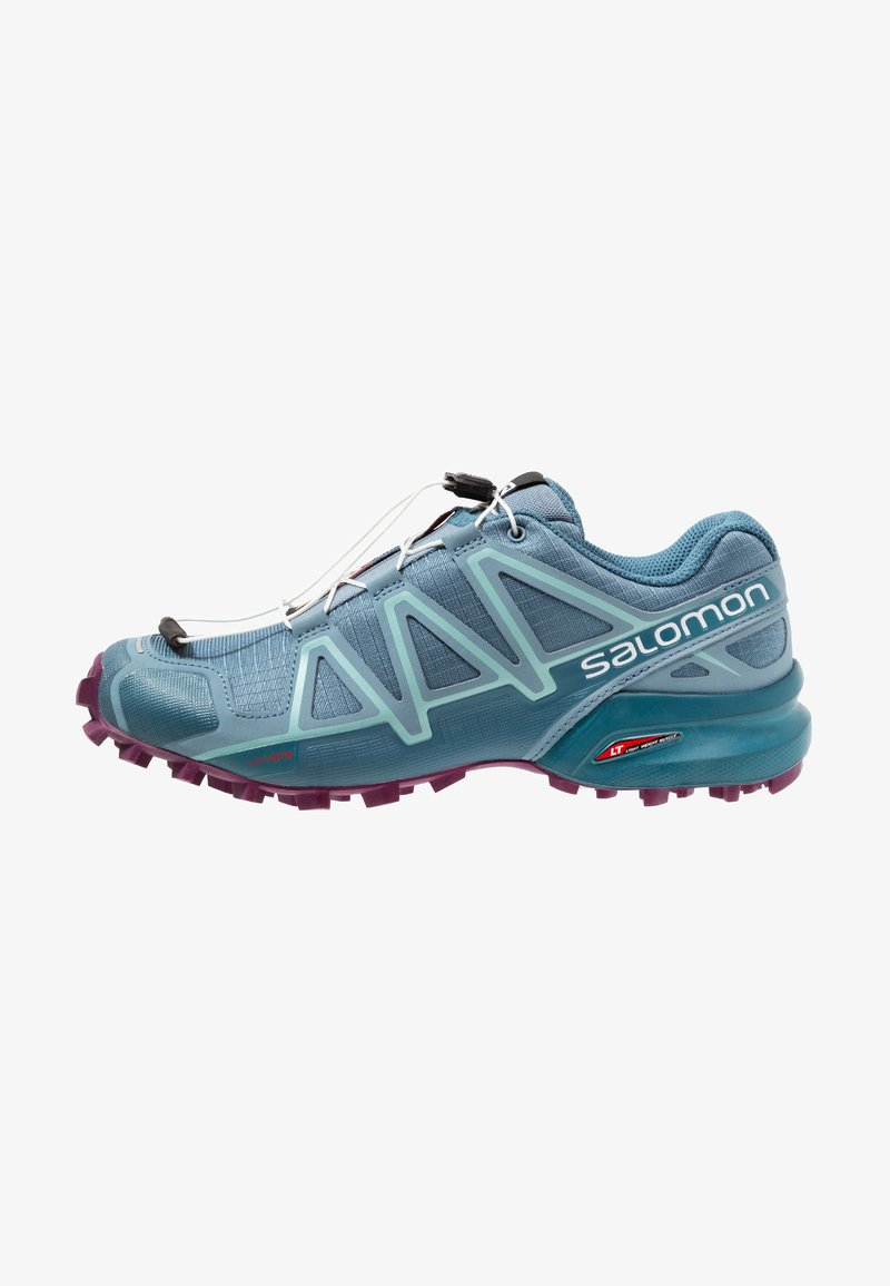 Salomon - SPEEDCROSS 4 - Laufschuh Trail - bluestone/mallard blue/dark purple