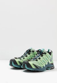 Salomon - XA PRO 3D - Trail running shoes - spruce stone/indian teal/meadowbroo - 2