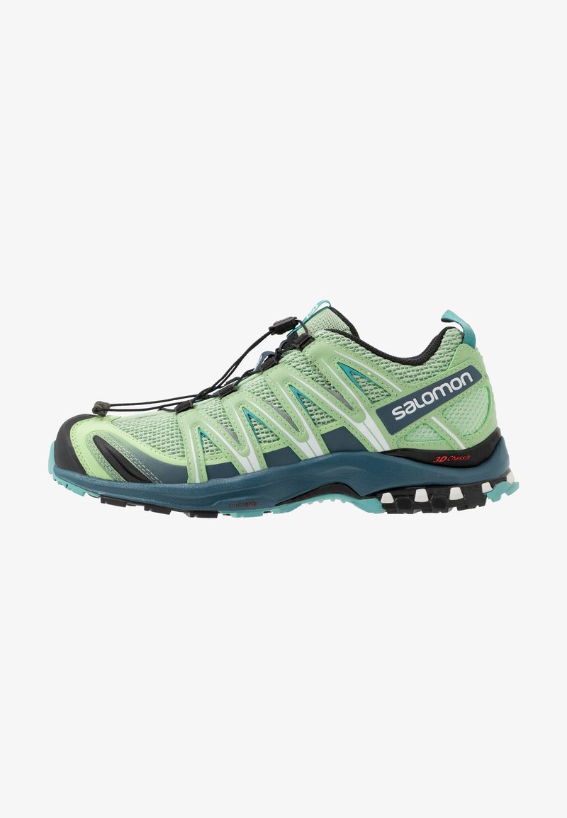 Salomon - XA PRO 3D - Trail running shoes - spruce stone/indian teal/meadowbroo