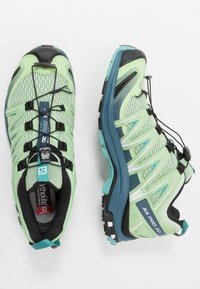 Salomon - XA PRO 3D - Trail running shoes - spruce stone/indian teal/meadowbroo - 1