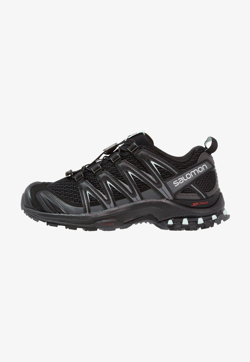 Salomon - XA PRO 3D - Trail running shoes - black/magnet/fair aqua