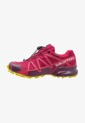 SPEEDCROSS 4 GTX - Trail running shoes - beet red