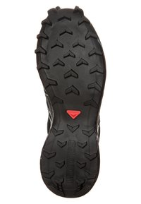 Salomon - SPEEDCROSS 4 GTX - Trail running shoes - black/metallic bubble blue - 5