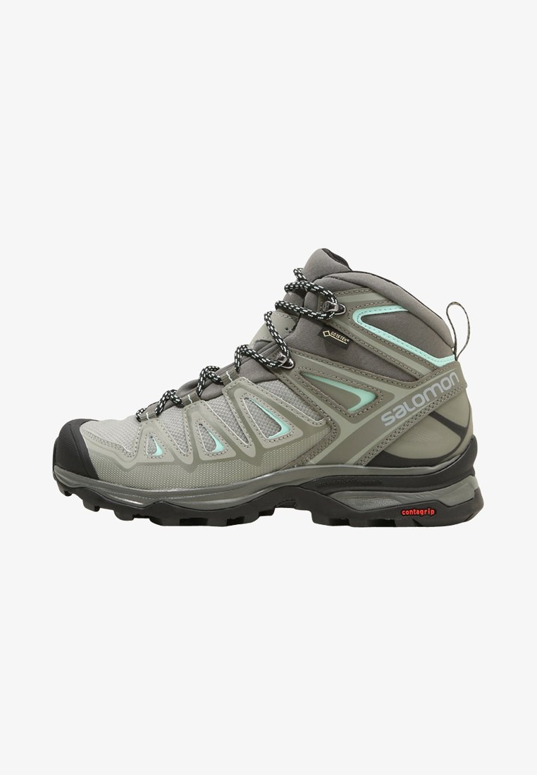 Salomon - X ULTRA 3 MID GTX  - Chaussures de marche - shadow/castor gray/beach glass