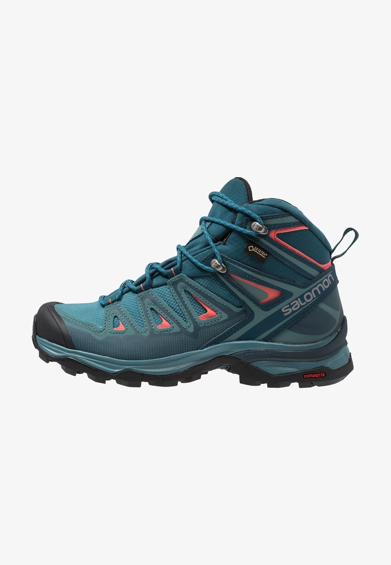 Salomon - X ULTRA 3 MID GTX  - Hikingschuh - hydro/reflecting pond/dubarry
