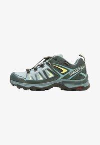 Salomon - X ULTRA 3 GTX  - Hiking shoes - artic/darkest spruce/sunny lime - 0