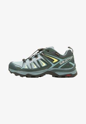 X ULTRA 3 GTX  - Hiking shoes - artic/darkest spruce/sunny lime