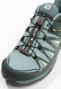 Salomon - X ULTRA 3 GTX  - Hiking shoes - artic/darkest spruce/sunny lime - 5
