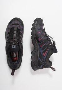 Salomon - X ULTRA 3  - Obuwie hikingowe - graphite/black/citronelle - 1