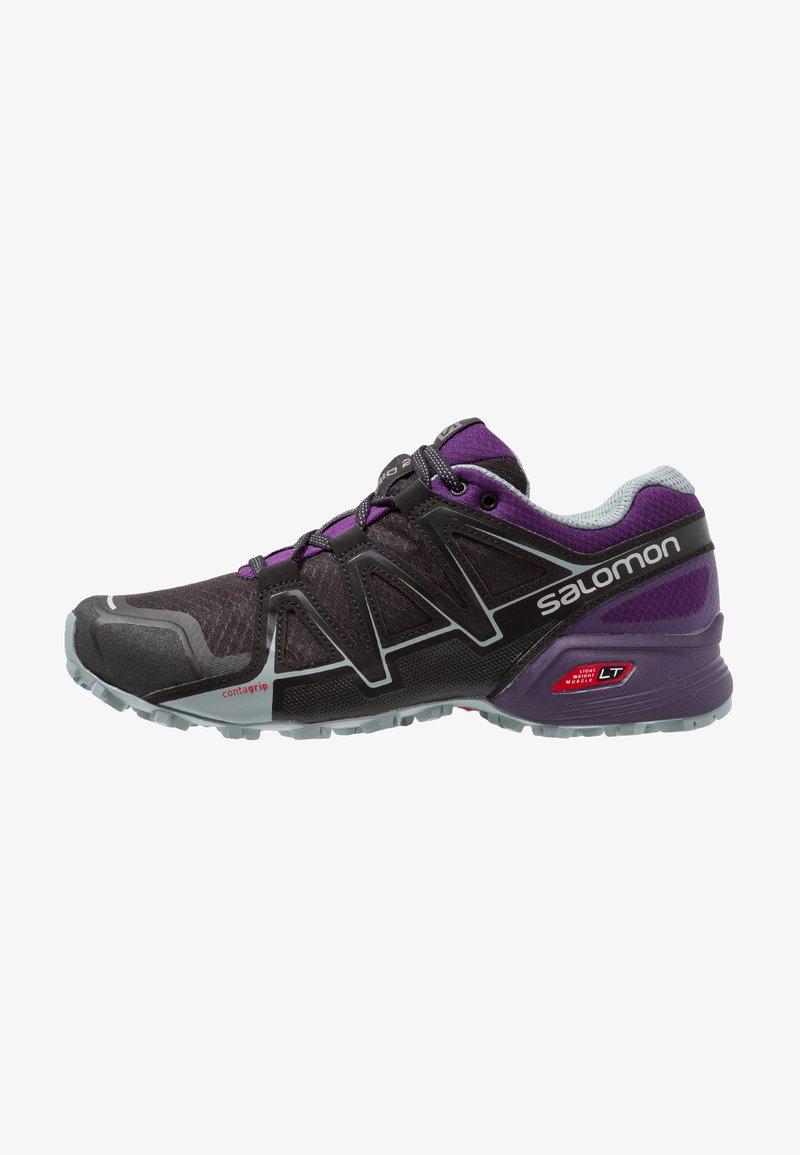 Salomon - SPEEDCROSS VARIO 2  - Trail running shoes - black/acai/lead