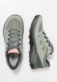 Salomon - OUTLINE GTX - Hiking shoes - shadow/urban chic/coral almond - 1