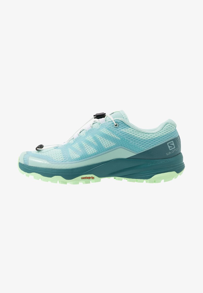 Salomon - XA DISCOVERY - Trail running shoes - icy morn/hydro./patina green