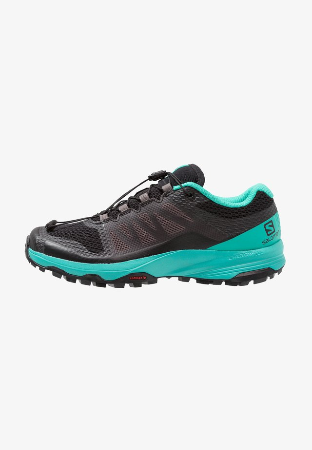 XA DISCOVERY - Scarpe da trail running - black/atlantis/magnet