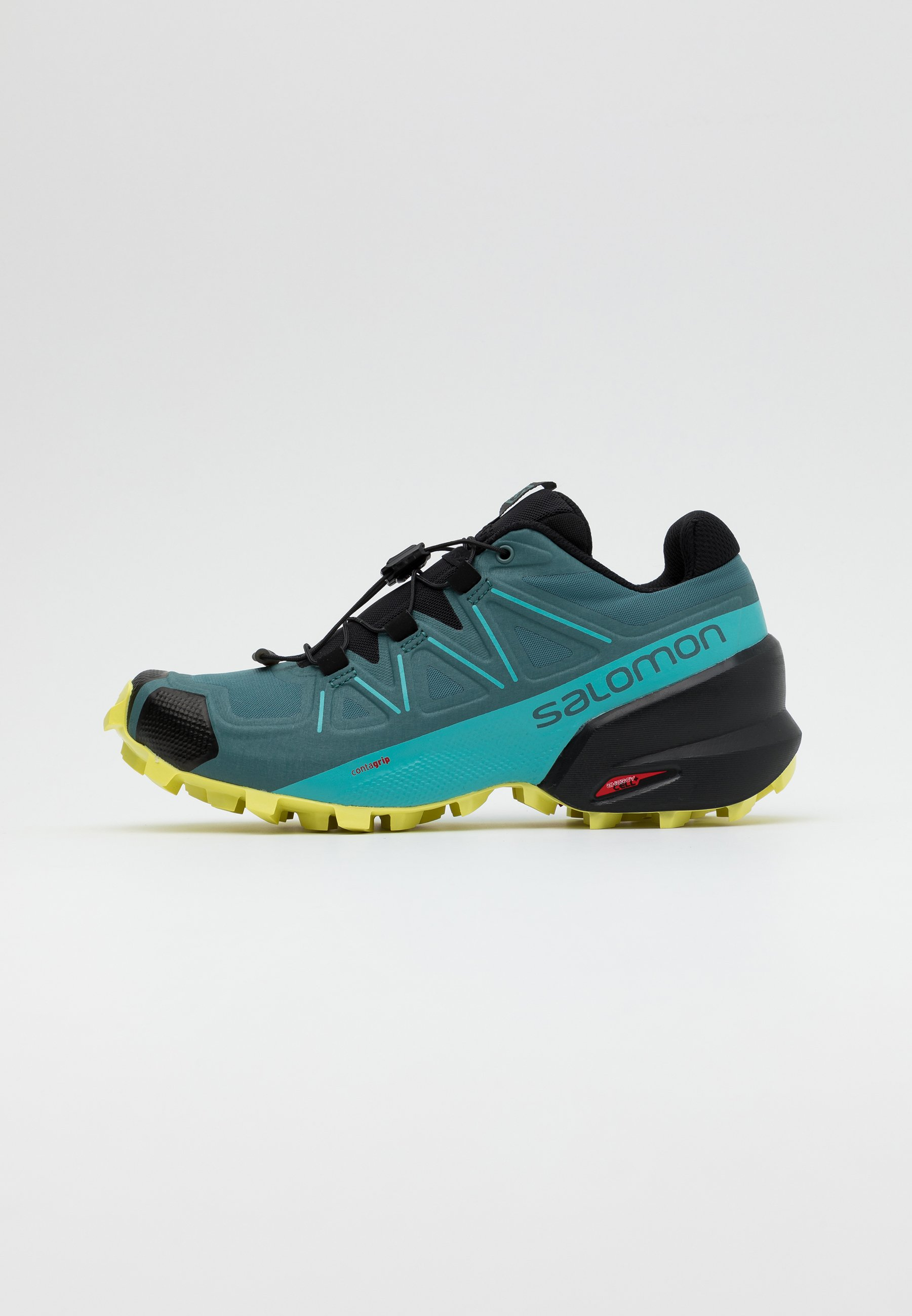 zapatos salomon verdes black