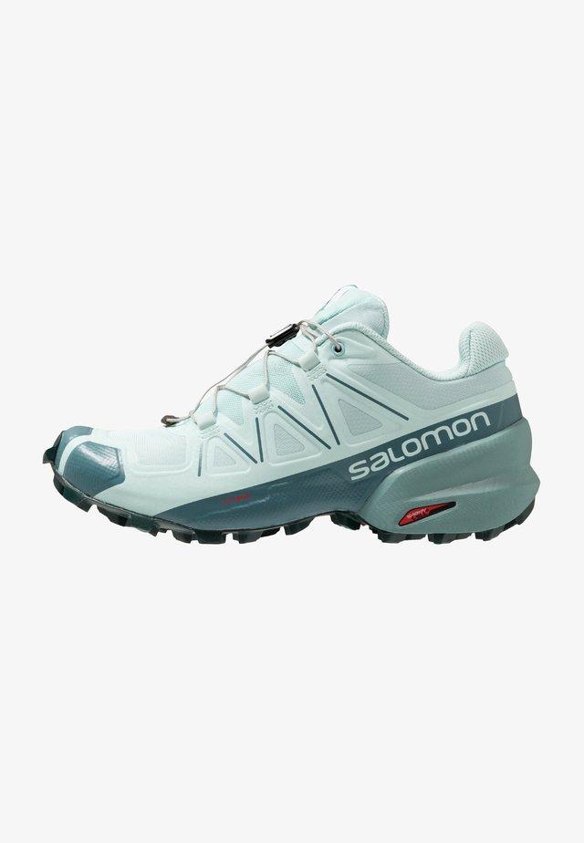 SPEEDCROSS 5 - Běžecké boty do terénu - icy morn/hydro/green gables