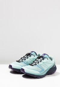 Salomon - SENSE ESCAPE 2 - Trail hardloopschoenen - icy morn/navy blazer/parachute purple - 2