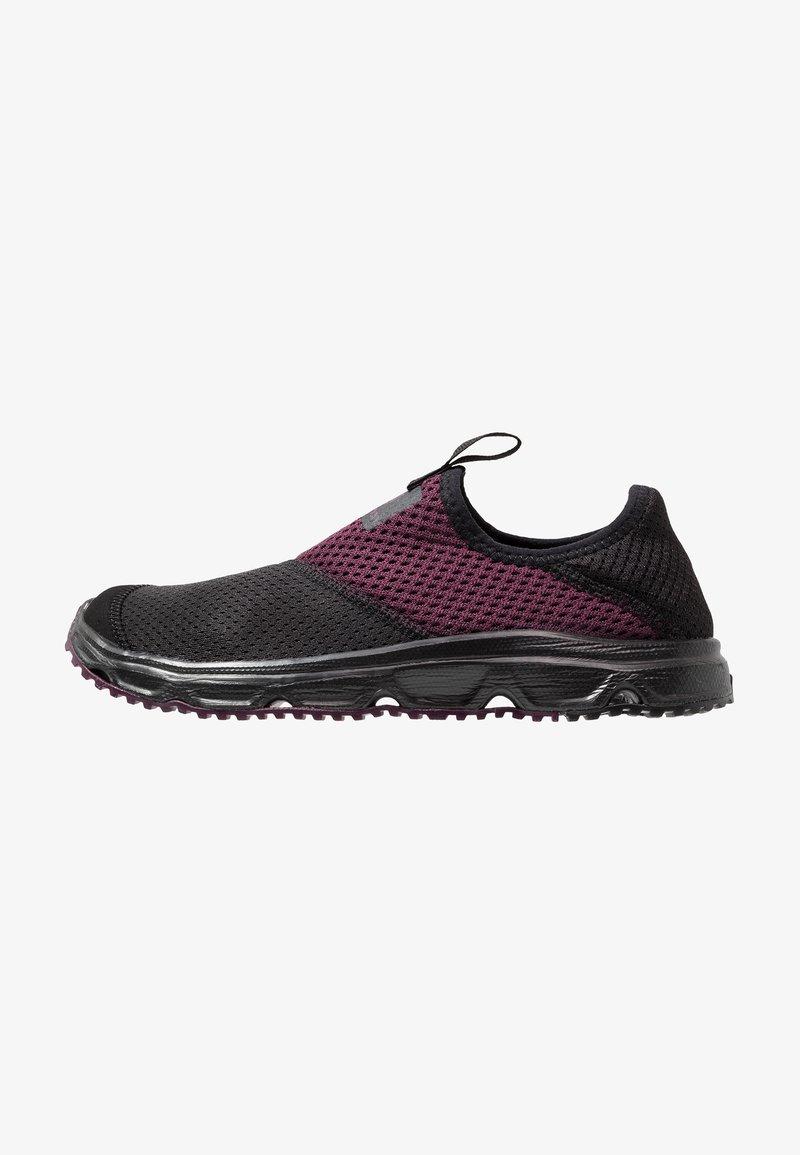 Salomon - RX MOC 4.0 - Hiking shoes - black/potent purple